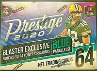 2020 Panini Prestige Football Blaster Box Joe Burrow Tua rookie auto?? prizm