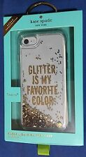 Kate Spade New York Glitter is My Favorite Color Case for iPhone 7 - Clear/Gold