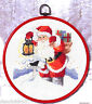 Permin 12-2201 Box the letters of the Santa Claus Embroidery Cross-stitch