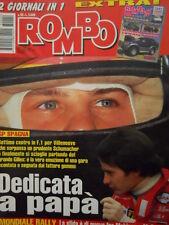 Auto & Sport ROMBO 22 1997 Gp Spagna Jacques dedicata a papà Villeneuve