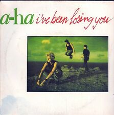 """45 TOURS / 7"""" SINGLE--A-HA / AHA--I'VE BEEN LOSING YOU / THIS ALONE IS LOVE--86"""