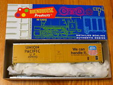 Roundhouse Ho #1256 (Rd #499192) Union Pacific 50' Plug Door Boxcar Kit