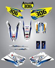 Full  Custom Graphic  Kit - STORM - Husaberg FE - TE 2013 2015 stickers / decals