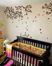 Large Wall decal Tree Branches with Birds Wall Art Decor Sticker Mural KR048