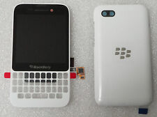 BlackBerry Q5 LCD White Screen & Digitizer Assembly+Battery Door