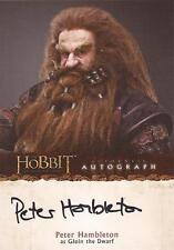 "The Hobbit An Unexpected Journey - A10 Peter Hambleton ""Gloin"" Autograph Card"