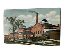 Postcard, Sugar Factory, St. Louis, MI, Dated 1911 By Writer,