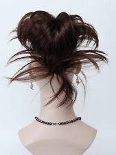 Fashion Dark Auburn Diy bendable wires tiny claw clip Ponytail Hair Extensions