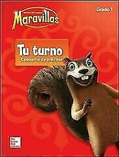 Lectura Maravillas, Grade 1, Your Turn Practice Book (ELEMENTARY CORE READING) (