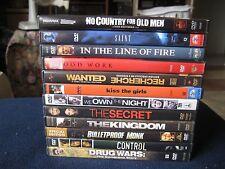 Lot of 12 DVDs *Accion, Adventure, Drama…..