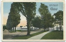 1918 CLEVELAND, OH POSTCARD Camp Grounds at Euclid Beach