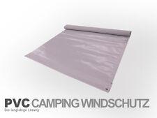 Windschutz aus PVC / Länge nach Wunsch / langlebig & wetterfest