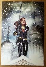 Black Widow Natalia Romanova Avengers Sniper Marvel Comics Poster by Adi Granov