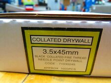 Collated Drywall Screws box of 1000 3.5x45mm fine thread
