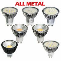 LAMPADINE LED Attacco GU10 MR16 Lampada Faretto Spotlight COB Dimmerabile CPR