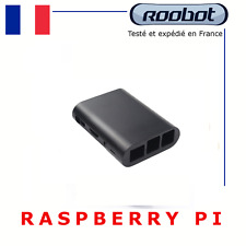 BOITIER / COQUE RASPBERRY PI 3 b / b + & RASBERRY PI 2 modèle b / b+ noir b plus
