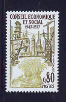 FRANCIA/FRANCE 1977 MNH SC.1557 Economic and social council