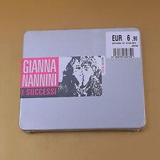 [AH-213] CD - GIANNA NANNINI -  I SUCCESSI - STEEL BOX - NUOVO