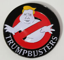 Donald Trump Trumpbusters Clinton Hillbusters Ghostbusters Challenge Coin