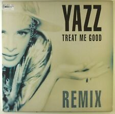 """12"""" Maxi - Yazz - Treat Me Good (Remix) - A2548 - washed & cleaned"""