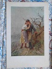 Liebscher Landschaft Paar Gemälde Kunstwerk Postkarte Ansichtskarte 3029