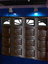 Sektionaltor 2540 x 2180 ,Garagentor, Tor braun Box mit 4 Fenster, Garagentore