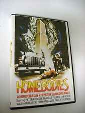HOMEBODIES; SENIOR CITIZENS ON MURDER RAMPAGE W/FRANCES FULLER; 1974 DVD