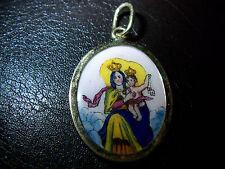 Email-Miniatur- Maria mit -Jesuskind – Madonna-585er-Gelb-Gold