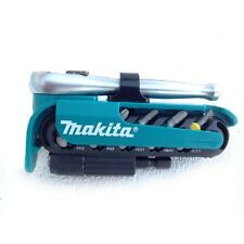 Makita P-79142 12 Piece 1/4in Ratchet and Screwdriver Set