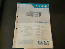 Original Service Manual Schaltplan Sony STR-434L