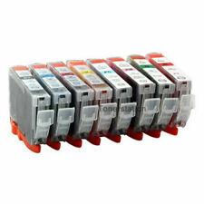 8 INK CLI-8B/C/M/Y/PC/PM CLI-8G CLI-8R Cartridge For CANON PIXMA PRO9000 Printer