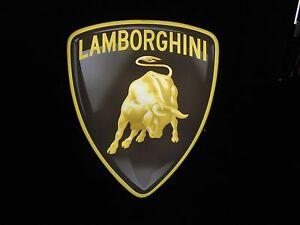 Lamborghini Lighted Sign