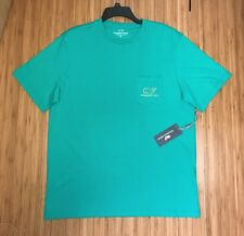 NWT! Vineyard Vines Short Sleeve Pocket T Shirt Green Men's Size M