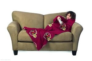 Washington Redskins Youth Kids Comfy Throw - The Blanket with Sleeves