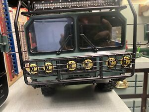 RC4WD Beast II With Upgrades And Roll Cage Kit Used