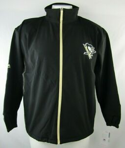 Pittsburgh Penguins NHL  Majestic Big and Tall Men's Full Zip Track Jacket