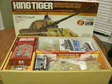 1/16 RC Tamiya King Tiger Porsche Turret new in box!  great condition