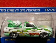 HOT WHEELS 83 1983 CHEVY SILVERADO 2014 MEXICO CONVENTION PICKUP TRUCK 9/20 GRN