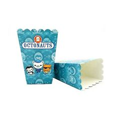 🐙6x The Octonauts Popcorn Box Paper Loot Lolly Bag. Party Supplies Bunting 🐳