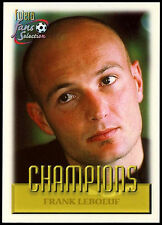 Frank Leboeuf #86 Camiseta Futera Chelsea Football 1999 tarjeta de comercio (C336)