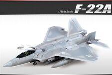 Academy Plastic Model kit 1/48 F-22A Air Dominance Fighter Raptor #12212
