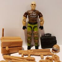 G.I. Joe ARAH 1990 SALVO Complete Action Figure NEAR PERFECT MINT+++!!!