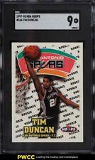 1997 Hoops Tim Duncan ROOKIE RC #166 SGC 9 MINT
