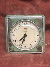 New ListingWarren Telechron Antique Electric Clock Model 3F59 Works!