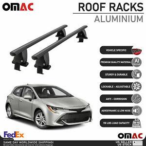 Fits Toyota Corolla Hatchback 2019-2021 Smooth Roof Rack Cross Bar Carrier Rail