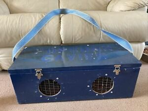 Guinea Pig/ Ferret / Large Pet Carrier Wooden With Strap