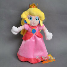 New Super Mario Princess Peach Plush Doll 8""