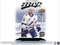 2018-19 Upperdeck UD MVP hockey 20th Anniversary Silver Scripts U PICK  #1-100