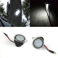 2X 6000K 18LED Side Mirror Puddle Lights For Ford Mondeo Mk5 2015 Edge F-150 CHY