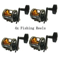 4 PACK - EatMyTackle Star Drag Saltwater Conventional Boat Reel